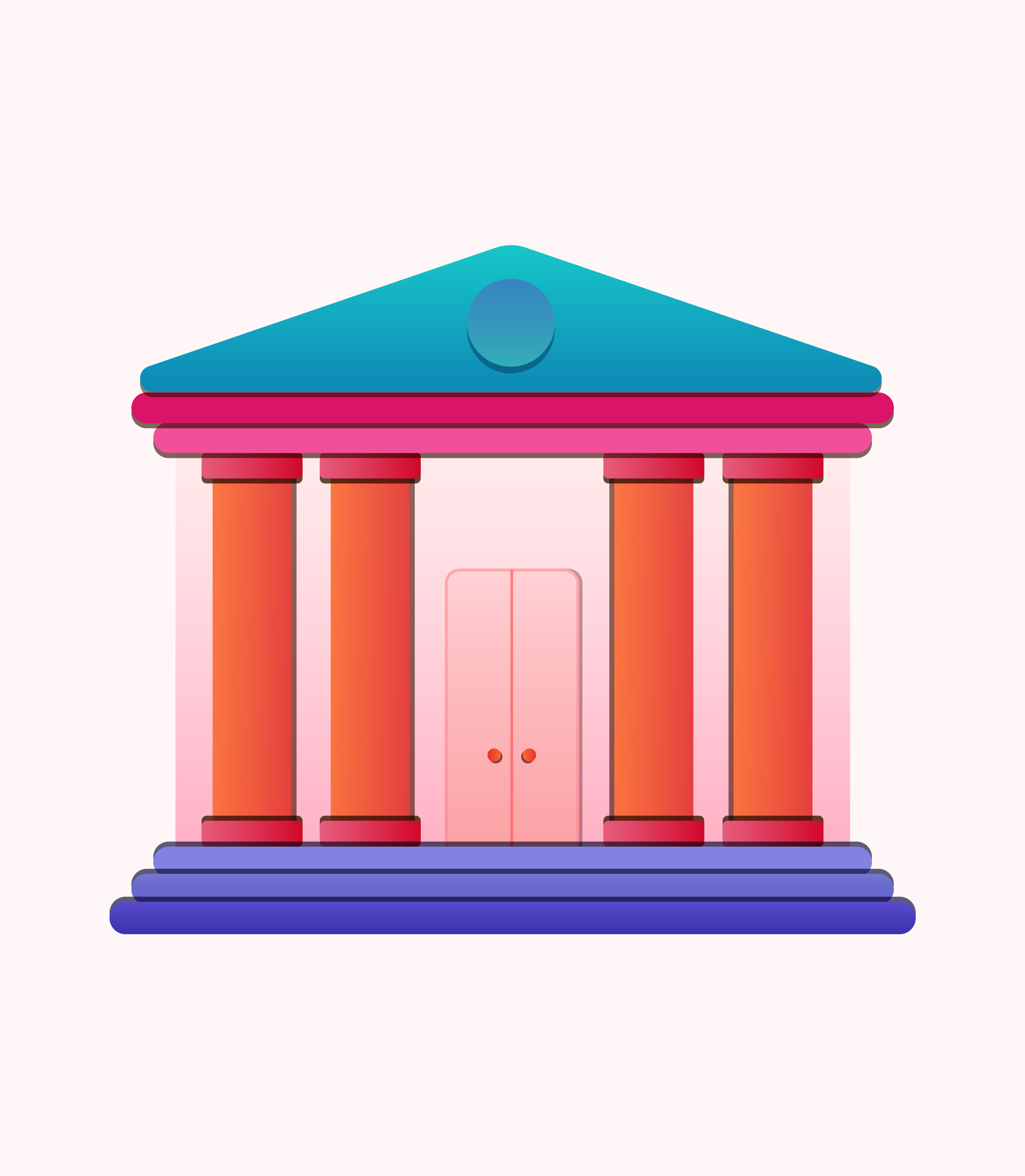 banque bâtiments illustration
