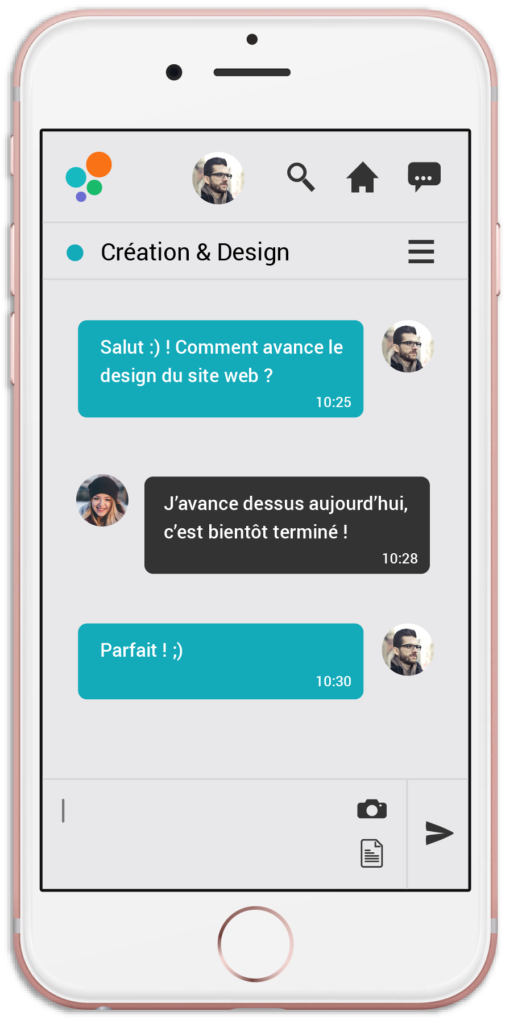 smartphone visuel application